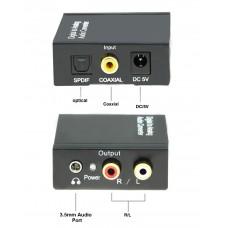 Axin DK-201 (S/PDIF – RCA +3.5mm) Конвертер-преобразователь аудиосигнала ЦАП