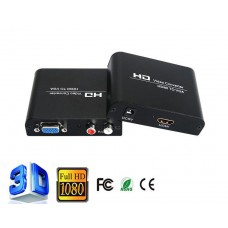 Axin DK-002 (in HDMI - out VGA +RCA) Конвертер адаптер