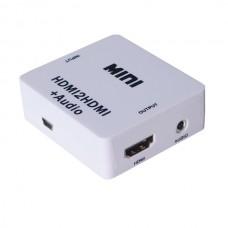 Axin DK-088b (HDMI - HDMI + RCA 3.5mm) Конвертер-адаптер
