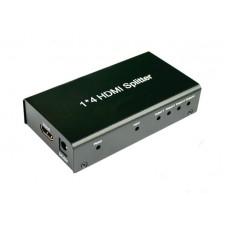 HDMI Разветвитель, HDMI Splitter 1х4 разветвитель на 4 выхода, Full HD, 3D, модель DK-104