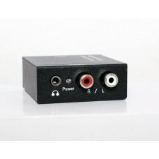 Конвертер - преобразователь аудиосигнала RCA - S/PDIF, модель DK-202
