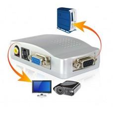 TV-531  (VGA - VGA / S-Video / AV видео)  Конвертер адаптер