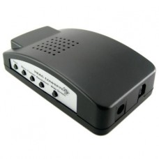 Конвертер видео сигнала VGA /RCA / S-Video в VGA