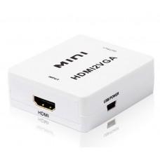 Адаптер - переходник из HDMI сигнала в аналоговый VGA