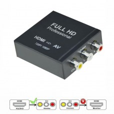 Axin DK-003KM - Конвертер адаптер  (HDMI - CVBS + RCA)
