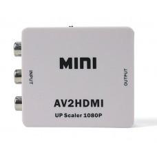 Конвертер аналогового AV сигнала в  HDMI