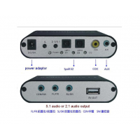 Axin DK-203B Цифровой аудио декодер 5.1 AC3