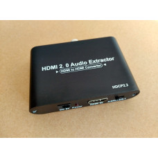 HDMI 2.0 AudioExtractor hdmi to hdmi +Audio ARC  (in HDMI - out HDMI + SPDIF/RCA/Coaxial) конвертер адаптер