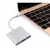 Axin TPH01 - Конвертер адаптер USB  3.1 в HDMI - USB 3.0 -USB  3.1