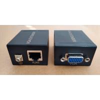 Axin DK-60 VGA extender усилитель  по витой паре до 60 метров Cat5e/6-568B