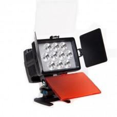 Накамерный свет Fujimi FJLED-1030 KIT, в комплекте  аккумулятор и зарядное устройство