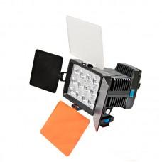 Накамерный свет Fujimi FJLED-1040, в комплекте  аккумулятор и зарядное устройство