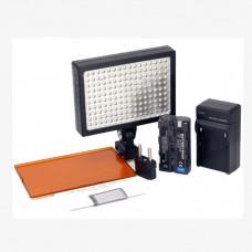 Светодиодный накамерный свет Ruibo Led 1600  в комплекте с аккумулятором, зарядным устройством