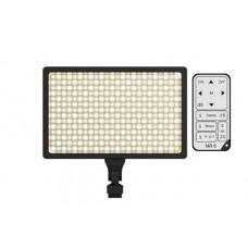 Светодиодный накамерный свет Ruibo LED-336A Bi-color в комплекте с аккумулятором, зарядным устройством и пультом