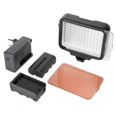 Накамерный свет Fujimi FJLED-5009A Bi-color , в комплекте  аккумулятор и зарядное устройство