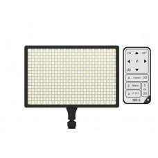 Светодиодный накамерный свет Ruibo LED-540A Bi-color  в комплекте с аккумулятором, зарядным устройством и пультом