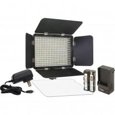 Светодиодный накамерный свет  Fujimi FJLED- 330 KIT   в комплекте- аккумулятор, зарядное устройство и пульт