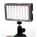 Светодиодный накамерный свет Lishuai Fotodiox-144AS Bi-Color в комплекте с аккумулятором и зарядным устройством