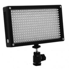 Светодиодный накамерный свет Lishuai Fotodiox-312AS Bi-color в комплекте с 2 аккумуляторами и зарядным устройством