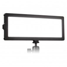 Осветитель светодиодный LISHUAI Flapjack C-218A для фото и видеокамер c БП и аккумулятором (Kit)