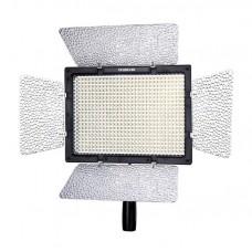 Осветитель светодиодный  Yongnuo YN-600L (5500K). В комплекте: пульт, ручка, 2 фильтра (5500К, 3200К)