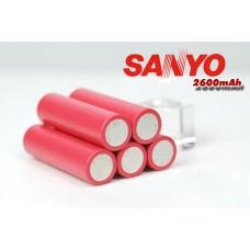 Аккумулятор SANYO 18650 Li-On  емкость 2600mAh