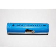 Аккумулятор 18650 TrustFire (2200mAh, 3.6-3.7V) защищенный