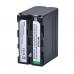 Batmax NP-F960/970 аккумулятор Li-On  (7.2V, 7200mAh)