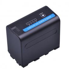 Batmax NP-F960/970 аккумулятор Li-On с индикацией заряда  (7.2V, 7200mAh)