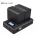 Palo Charger  Двойное Зарядное устройство с индикацией и выходным портом USB