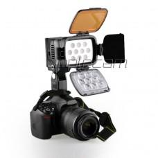 Светодиодный накамерный свет LBPS 1800  в комплекте с аккумулятором, зарядным устройством и сумкой
