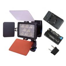 Накамерный свет Ruibo LED-5080 / 22W (charger + NP-F570)