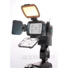 Светодиодный накамерный свет LBPS 900  в комплекте с аккумулятором и зарядным устройством