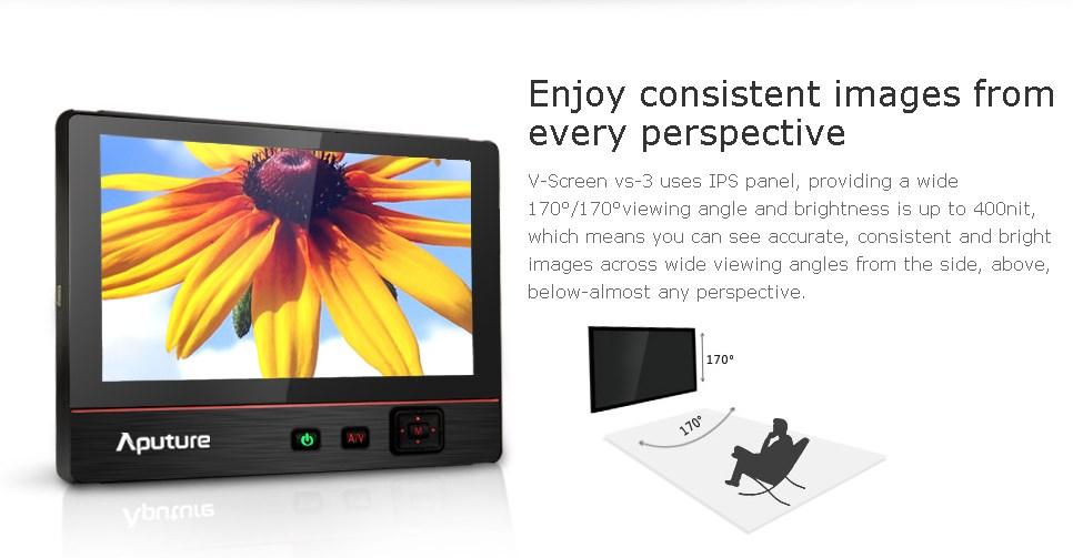 монитор 7'' Aputure V-Screen VS-3
