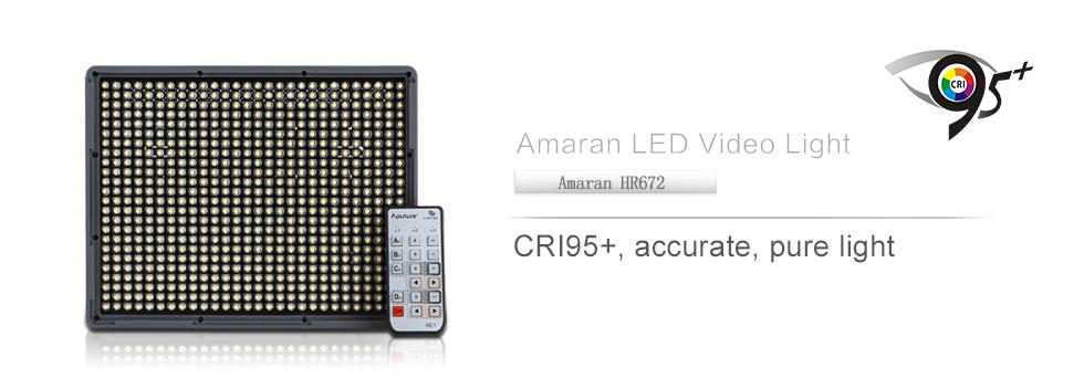 Светодиодная LED панель Aputure Amaran HR-672W