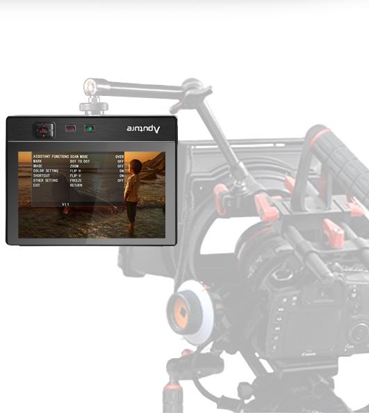 Профессиональный накамерный монитор Aputure VS-2