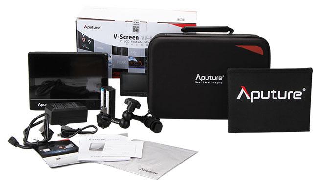 Профессиональный накамерный IPS монитор Aputure VS-2 комплект