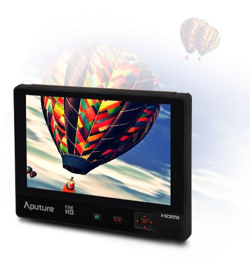 Профессиональный накамерный монитор 7'' Aputure V-Screen VS-1 finehd