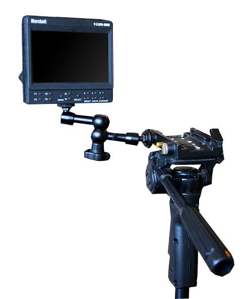 """Держатель Magic Arm 7""""  для установки накамерного монитора"""