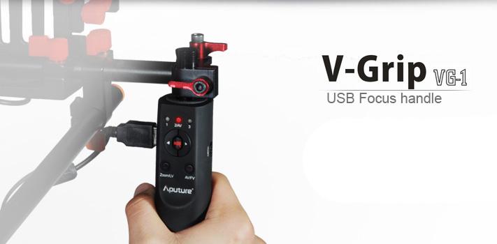 Aputure V-Grip VG-1 дистанционное управление зеркальной камерой в режиме видеосъемки