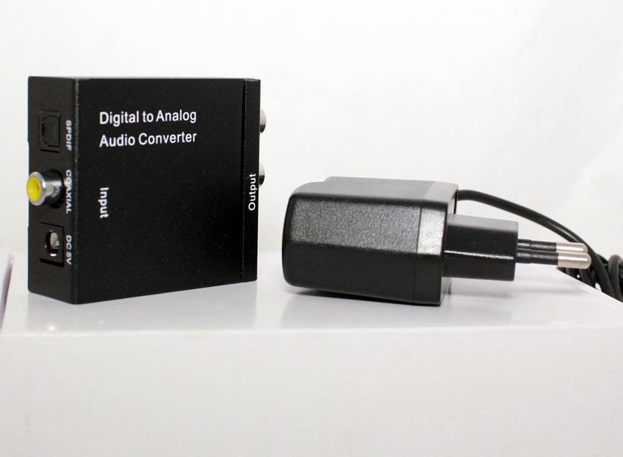 аудио конвертер: цифра-аналог
