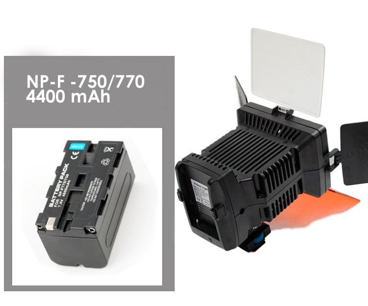 Накамерный свет LED-1040A комплектация