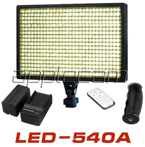 Светодиодый видеосвет- LED-540A комплектация