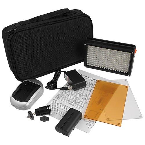 Светодиодный свет  LED 209A комплект с аккумулятором