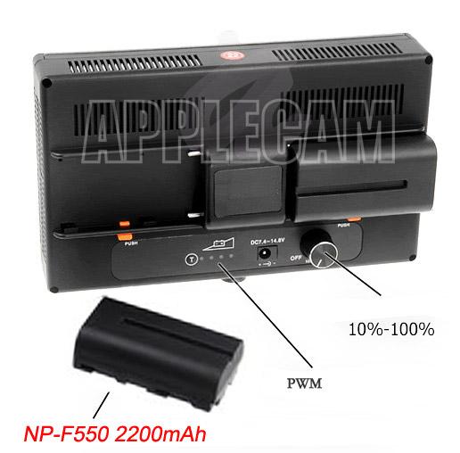 Накамерный видео свет Lishuai LED 312A