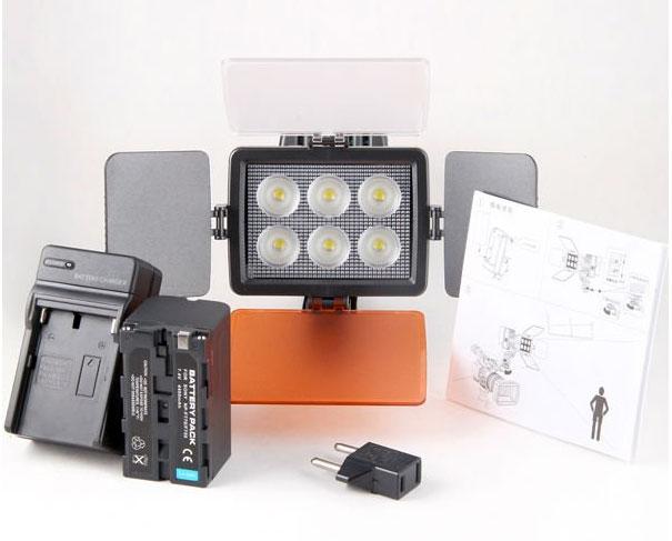 Накамерный свет LED 5010A инструкция