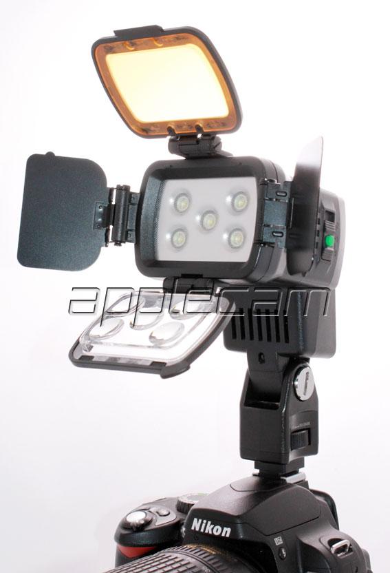 Накамерный свет LED Comer LBPS900