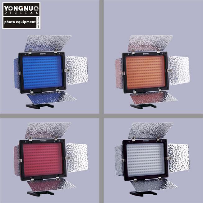 Накамерный свет Yongnuo YN160-ii 2 встроенных микрофона