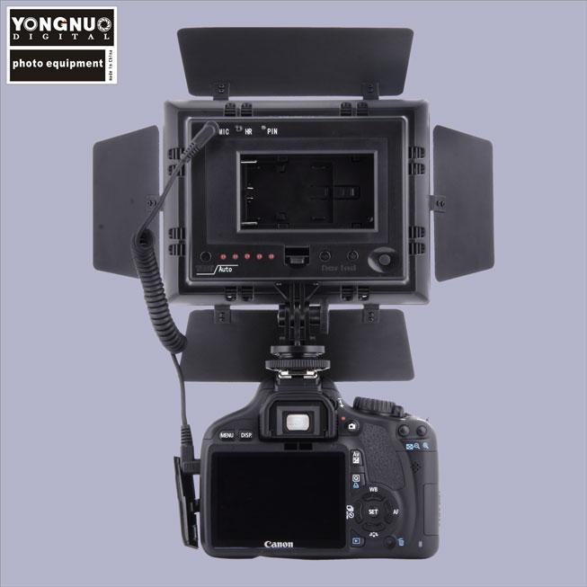 Видеосвет led Yongnuo YN160-ii микрофон пульт дистанционного управления