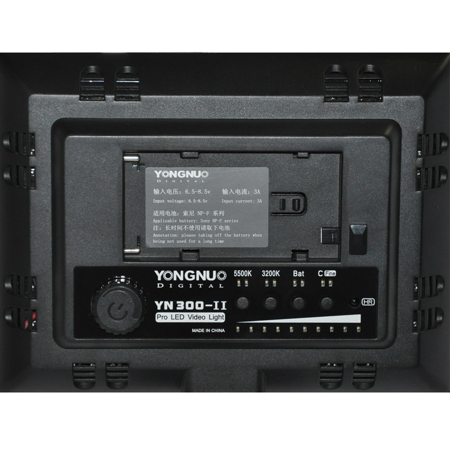Yongnuo YN-300-II  LED color mix